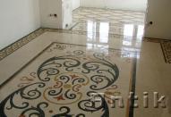 Підлога з мармуру та граніту